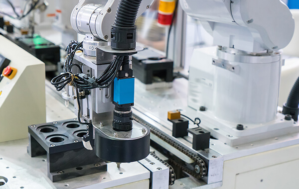 Sistema di visione artificiale per controllo qualità